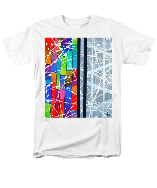 Happiness Against The Steel Men's T-Shirt  (Regular Fit) by Jeremy Aiyadurai
