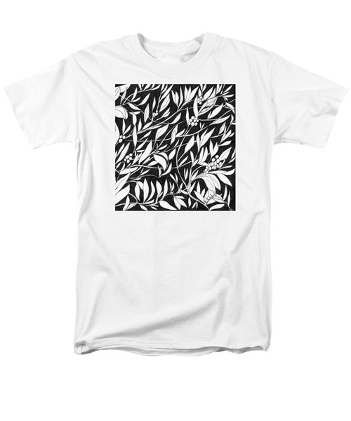 Men's T-Shirt  (Regular Fit) featuring the painting Happy Berries by Lou Belcher