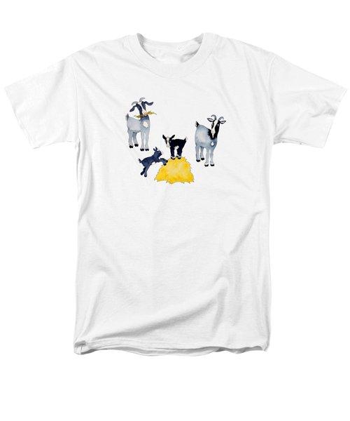 Happy Goats Men's T-Shirt  (Regular Fit)