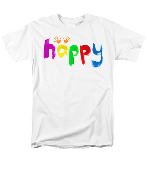 Happy Men's T-Shirt  (Regular Fit) by Tim Gainey