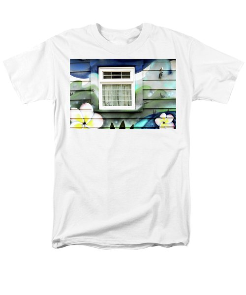 Happy Window Men's T-Shirt  (Regular Fit) by Haleh Mahbod