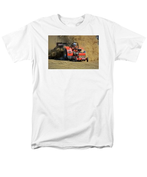 Hard Drive Pulling Tractor Men's T-Shirt  (Regular Fit) by Mike Martin