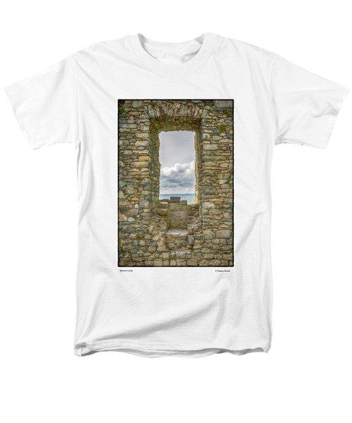 Harlech Cloud Men's T-Shirt  (Regular Fit) by R Thomas Berner