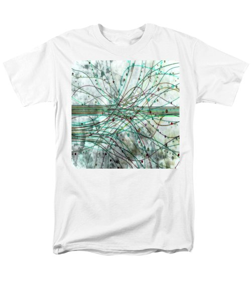 Men's T-Shirt  (Regular Fit) featuring the digital art Harnessing Energy 3 by Angelina Vick