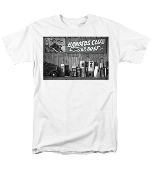 Harold's Club Men's T-Shirt  (Regular Fit) by Marius Sipa