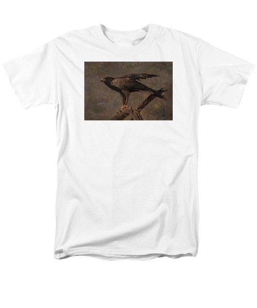 Men's T-Shirt  (Regular Fit) featuring the photograph Harris's Hawk by Barbara Manis