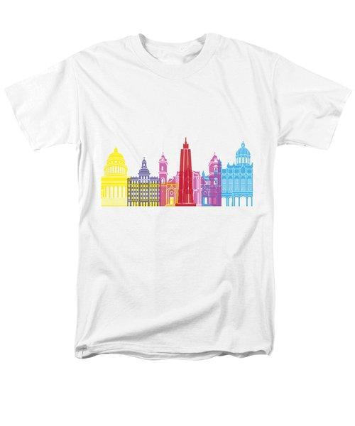 Havana Skyline Pop Men's T-Shirt  (Regular Fit) by Pablo Romero