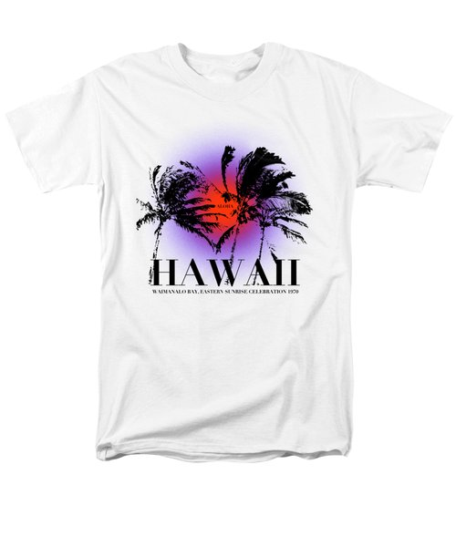 Hawaiian Sunrise Men's T-Shirt  (Regular Fit) by Filippo B