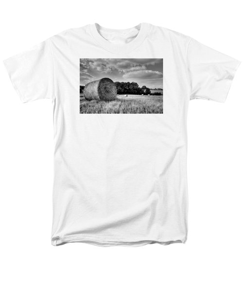 Hay Race Track Men's T-Shirt  (Regular Fit) by Jeremy Lavender Photography