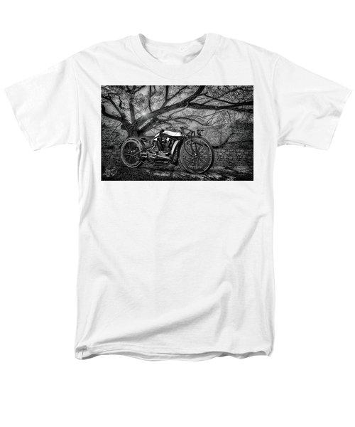 Men's T-Shirt  (Regular Fit) featuring the photograph Hd Cafe Racer  by Louis Ferreira