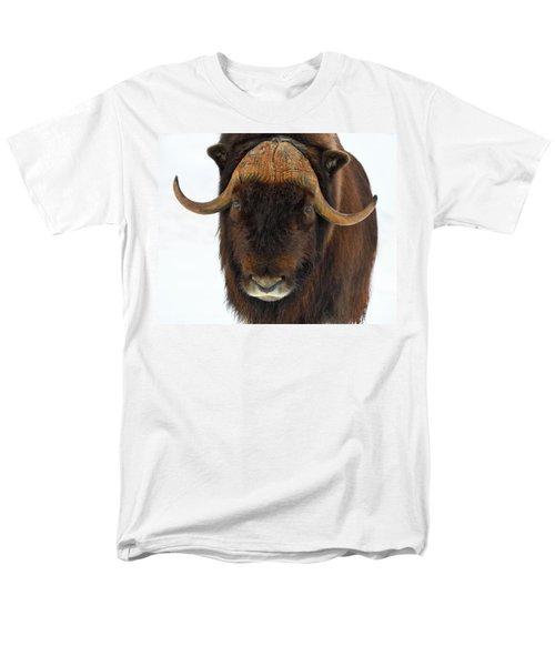 Men's T-Shirt  (Regular Fit) featuring the photograph Head Butt by Tony Beck