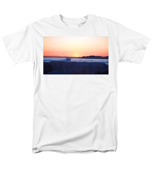 Men's T-Shirt  (Regular Fit) featuring the photograph Heading Out by  Newwwman