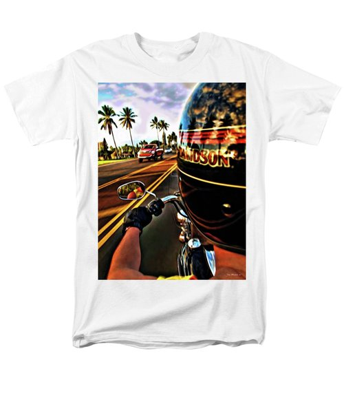 Heading Out On Harley Men's T-Shirt  (Regular Fit) by Joan  Minchak