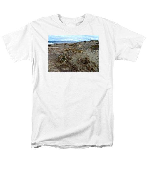 Headlands Mackerricher State Beach Men's T-Shirt  (Regular Fit) by Amelia Racca