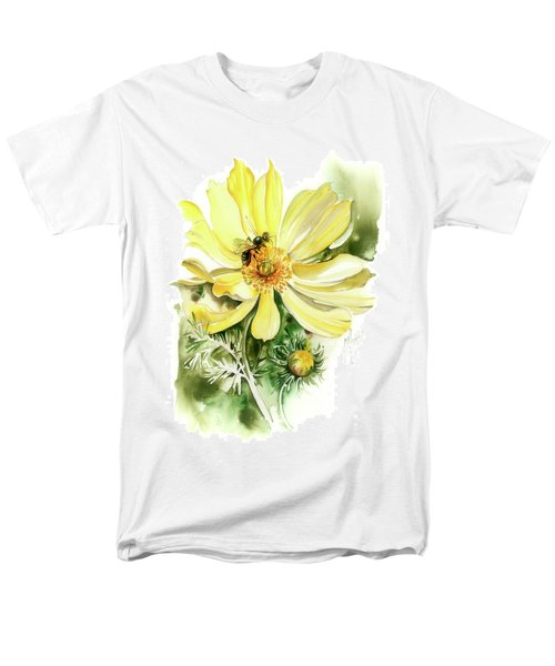 Men's T-Shirt  (Regular Fit) featuring the painting Healing Your Heart by Anna Ewa Miarczynska
