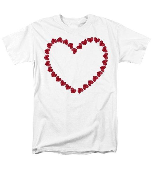 Heart From Red Hearts Men's T-Shirt  (Regular Fit) by Frank Tschakert