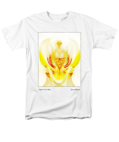 Heart Of An Alien Men's T-Shirt  (Regular Fit) by Jennie Breeze