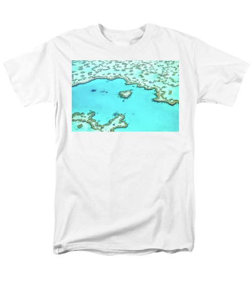 Men's T-Shirt  (Regular Fit) featuring the photograph Heart Of The Reef by Az Jackson