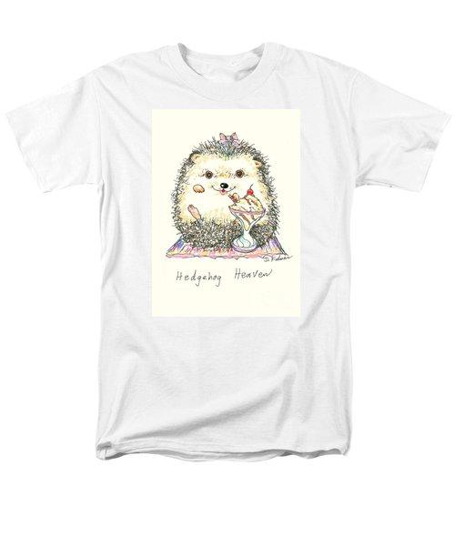 Hedgehog Heaven Men's T-Shirt  (Regular Fit) by Denise Fulmer