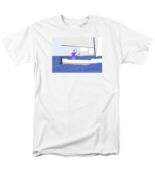 Hello Old Friend Men's T-Shirt  (Regular Fit) by Fred Jinkins