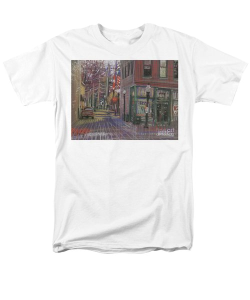 Men's T-Shirt  (Regular Fit) featuring the painting Henry's by Donald Maier