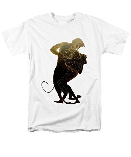Hercules And The Nemean Lion Men's T-Shirt  (Regular Fit) by Tracey Harrington-Simpson