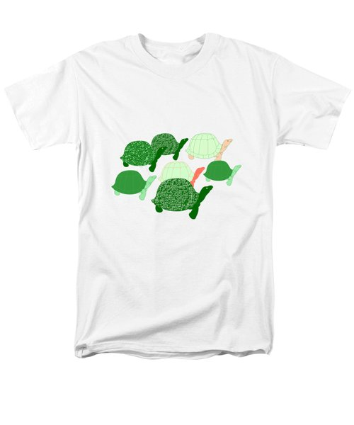 Herd Of Turtles Pattern Men's T-Shirt  (Regular Fit) by Methune Hively