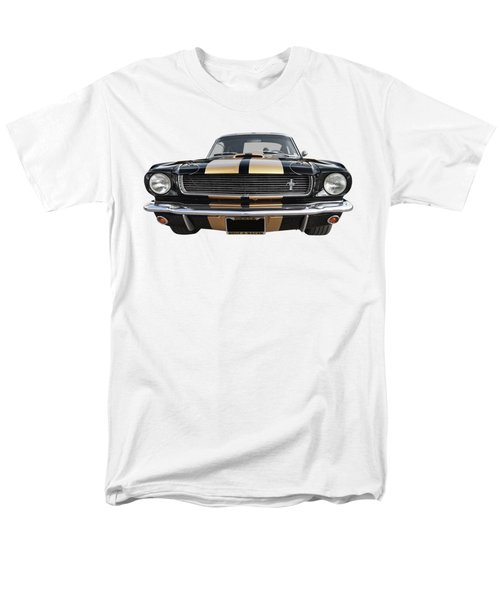 Men's T-Shirt  (Regular Fit) featuring the photograph Hertz Rent A Racer Mustang 1966 by Gill Billington