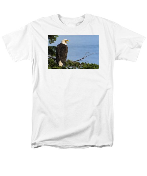 Men's T-Shirt  (Regular Fit) featuring the photograph Hey by Gary Lengyel