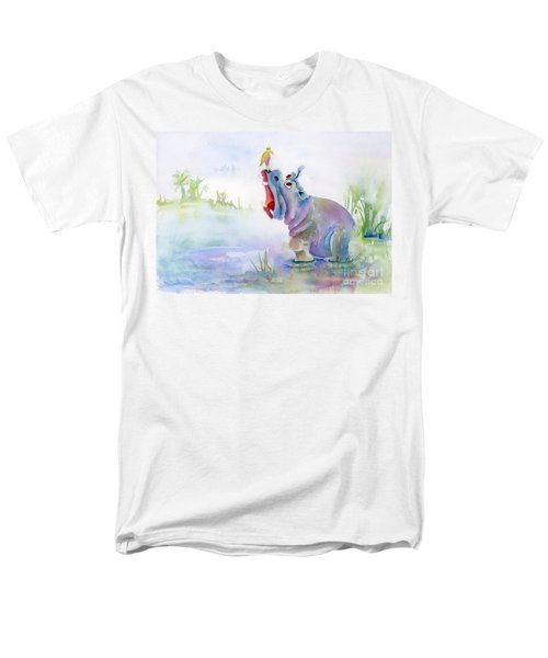Hey Whats The Big Idea Men's T-Shirt  (Regular Fit) by Amy Kirkpatrick