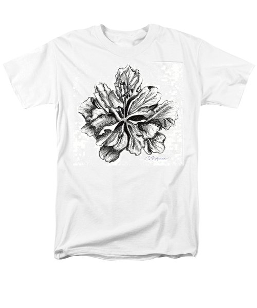 Hibiscus Bloom Men's T-Shirt  (Regular Fit)