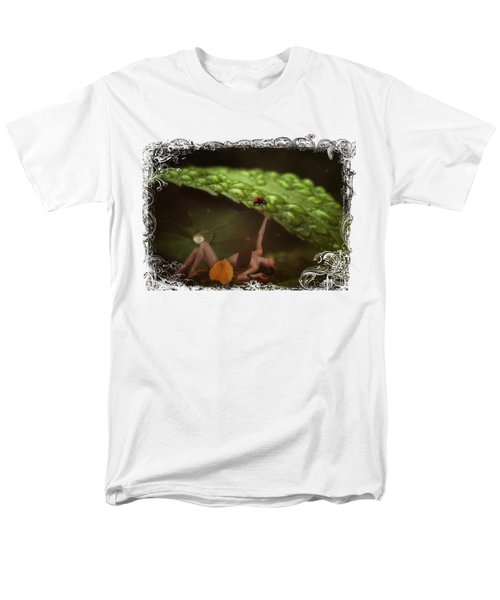 Hiding From The Storm Men's T-Shirt  (Regular Fit) by Terry Fleckney