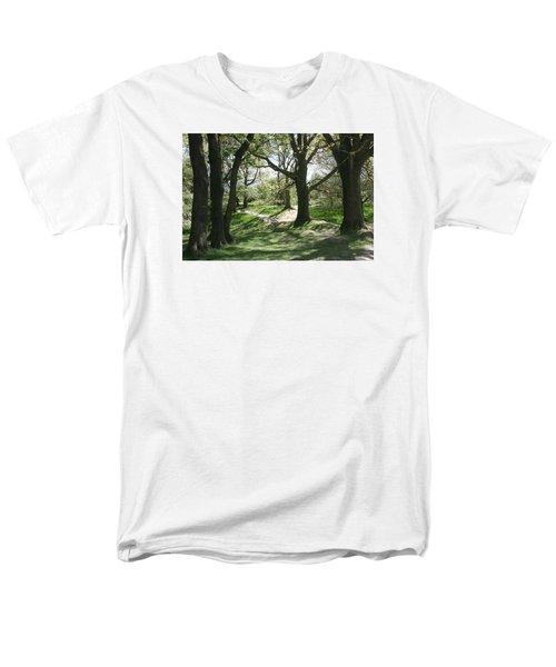 Hill 60 Cratered Landscape Men's T-Shirt  (Regular Fit)