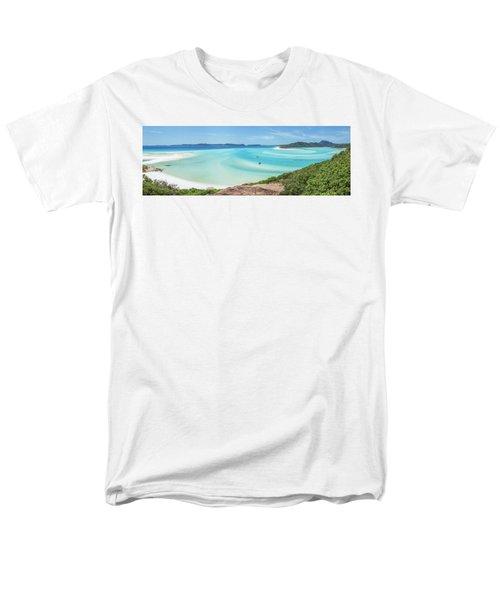 Men's T-Shirt  (Regular Fit) featuring the photograph Hill Inlet Lookout by Az Jackson