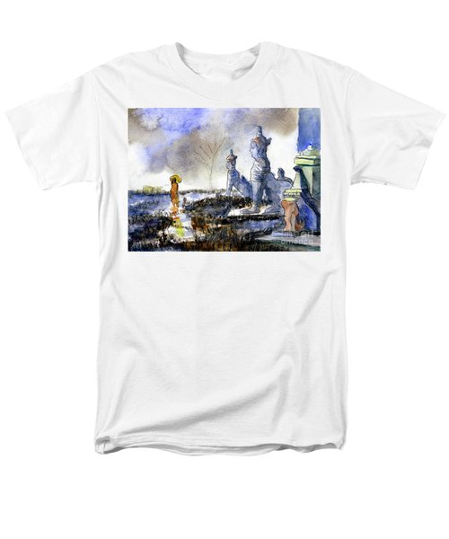 His And Hers Temples Men's T-Shirt  (Regular Fit) by Randy Sprout