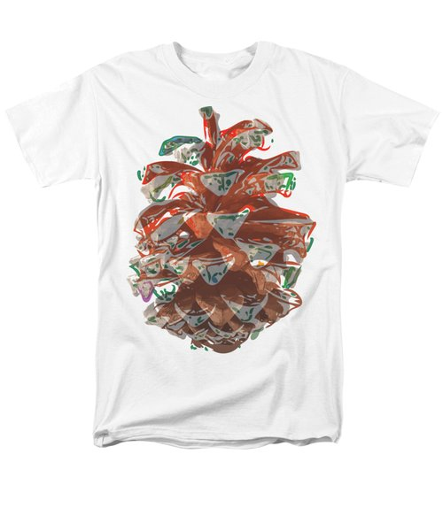 Holiday Red Cone Men's T-Shirt  (Regular Fit) by Stan  Magnan