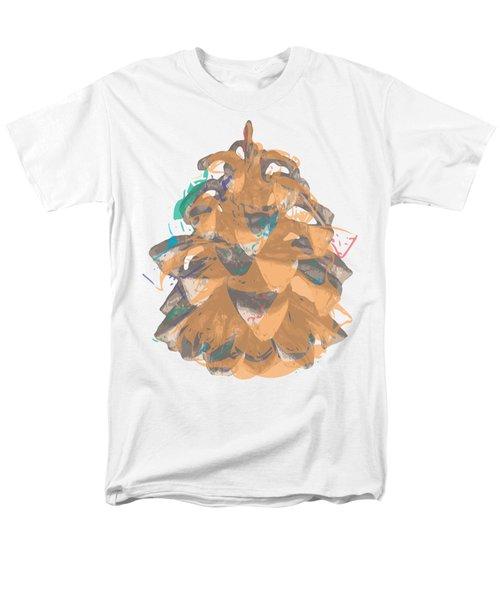Holiday Yellow Cone Men's T-Shirt  (Regular Fit) by Stan  Magnan