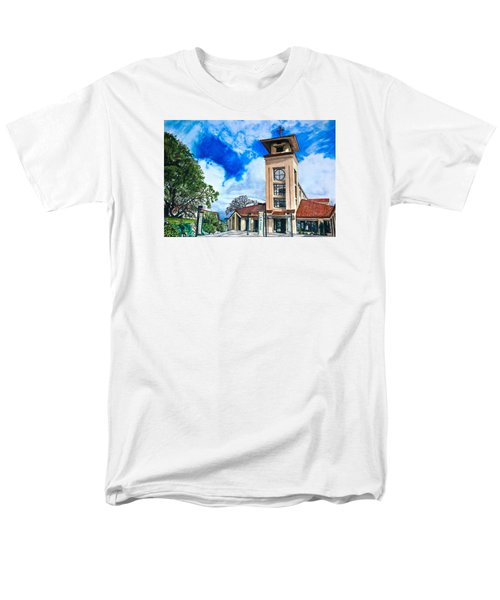 Men's T-Shirt  (Regular Fit) featuring the painting Holy Trinity by Lance Gebhardt