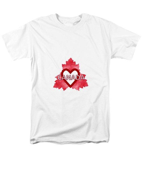 Home Sweet Canada Men's T-Shirt  (Regular Fit)