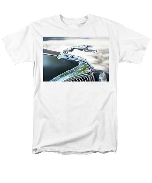 Men's T-Shirt  (Regular Fit) featuring the photograph Hood Ornament Ford by Theresa Tahara
