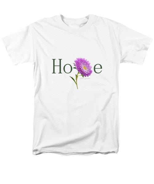 Men's T-Shirt  (Regular Fit) featuring the digital art Hope Shirt by Ann Lauwers