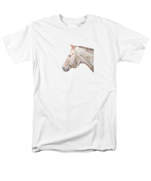 Horse Portrait I Men's T-Shirt  (Regular Fit) by Elizabeth Lock
