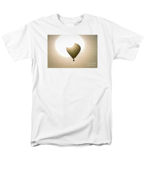 Men's T-Shirt  (Regular Fit) featuring the photograph Hot Air by Mitch Shindelbower