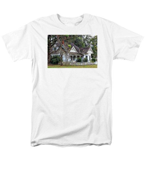 House With A Picket Fence Men's T-Shirt  (Regular Fit) by Lynn Jordan