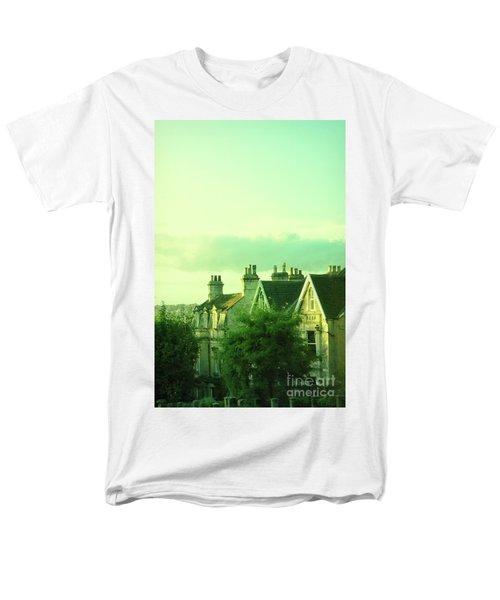 Men's T-Shirt  (Regular Fit) featuring the photograph Houses by Jill Battaglia