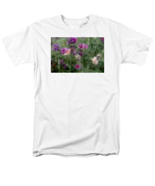 How I Love Flowers Men's T-Shirt  (Regular Fit) by The Art Of Marilyn Ridoutt-Greene