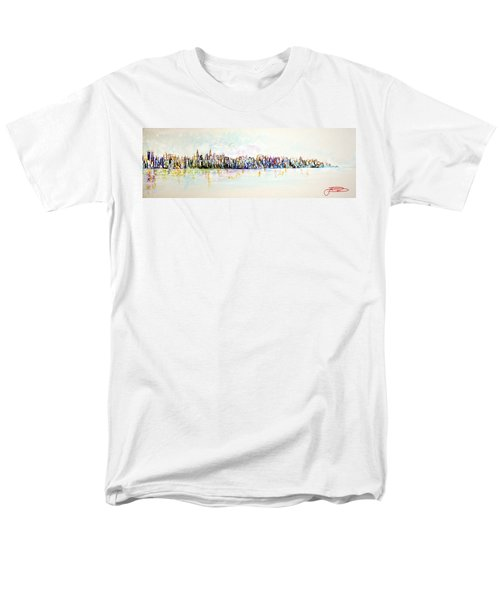 Hudson River View Men's T-Shirt  (Regular Fit)