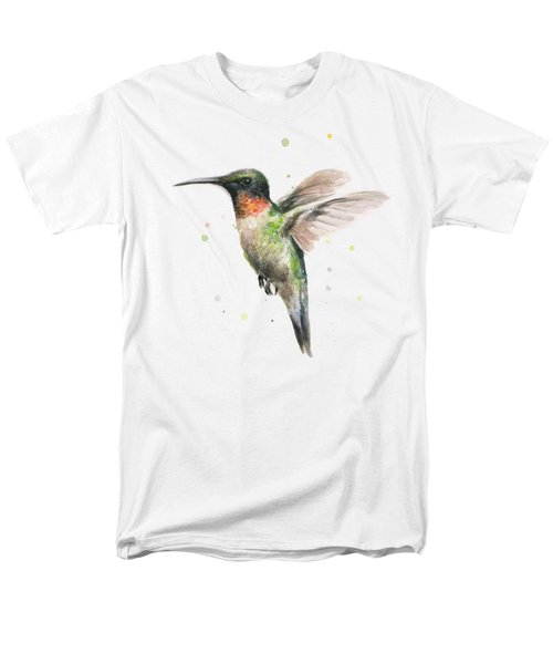 Hummingbird Men's T-Shirt  (Regular Fit) by Olga Shvartsur