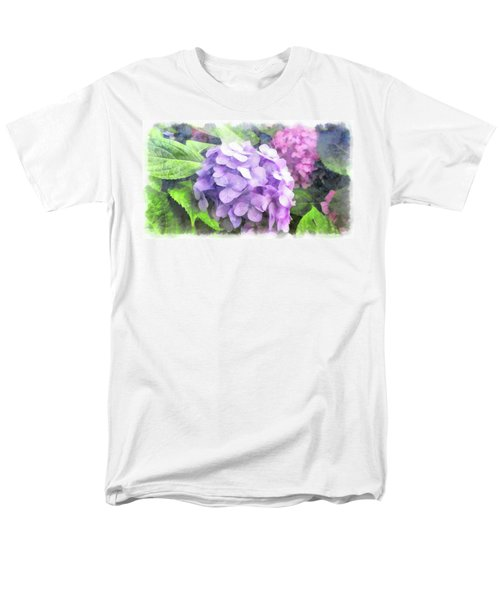 Hydrangea Men's T-Shirt  (Regular Fit)