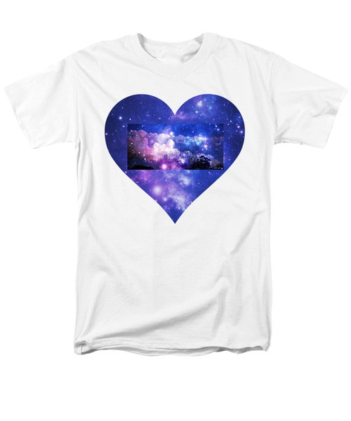 Men's T-Shirt  (Regular Fit) featuring the photograph I Love The Night Sky by Leanne Seymour